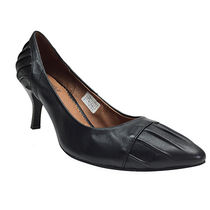 Jeffrey Campbell Plain Toe Plain Leather Pin Heels Office Style Shoes