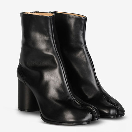 16-17 AW Maison Margiela Snake Uncle Leather Heel Boots