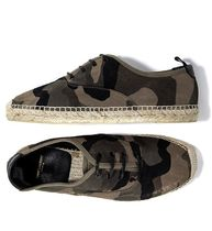 Saint Laurent Camouflage Loafers & Slip-ons