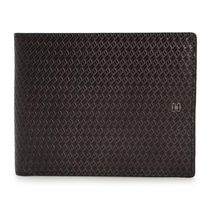 DAKS Glen Patterns Tartan Street Style Leather Folding Wallets