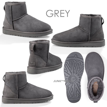 UGG Australia Ankle & Booties Casual Style Sheepskin Plain Ankle & Booties Boots 7