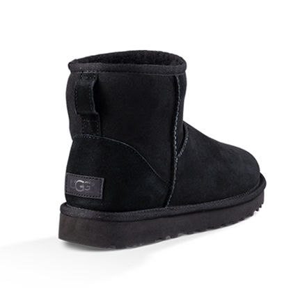 UGG Australia Ankle & Booties Casual Style Sheepskin Plain Ankle & Booties Boots 13