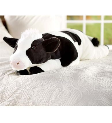 Cuddly Cow Body Pillow large pillow