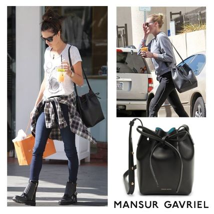 MANSUR GAVRIEL Plain Leather Bags