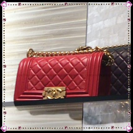 CHANEL Handbags Leather Party Style Handbags 2