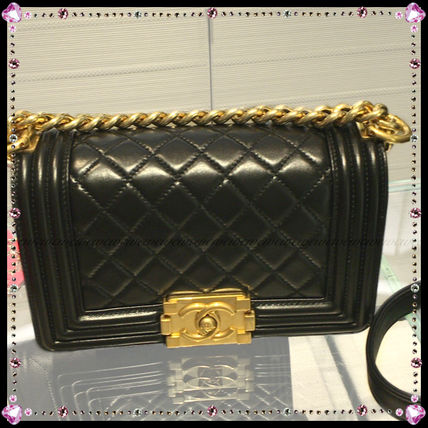 CHANEL Handbags Leather Party Style Handbags 3