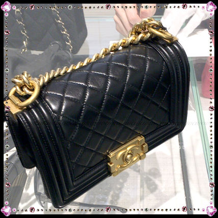CHANEL Handbags Leather Party Style Handbags 4