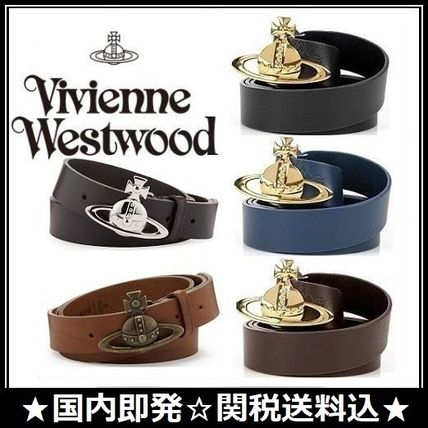 Unisex Plain Leather Belts