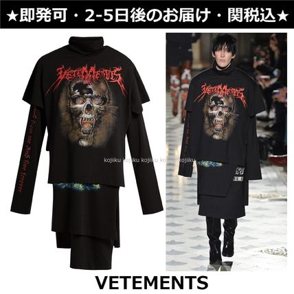 VETEMENTS Unisex Long Sleeves Other Animal Patterns