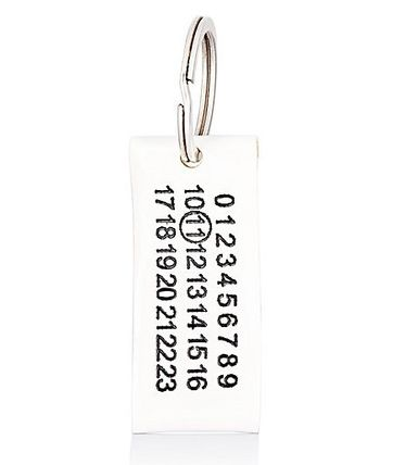 MaisonMargiela 11 Number tag key ring