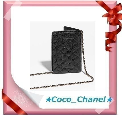 CHANEL Shoulder Bags Leather Party Style Shoulder Bags 2