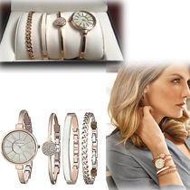 Anne Klein Round Quartz Watches Stainless Analog Watches