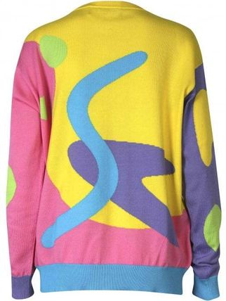 Jeremy Scott Knits & Sweaters Crew Neck Tropical Patterns Street Style Long Sleeves 2