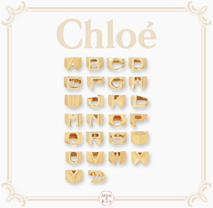 Chloe Initial Party Style Rings