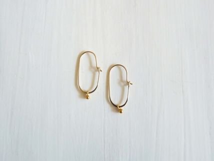 Casual Style Handmade Silver Brass 14K Gold