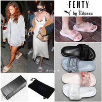 PUMA FENTY Unisex Collaboration Shower Shoes PUMA FENTY by Rihanna