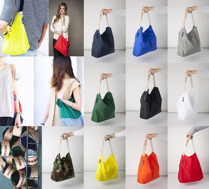 Ron Herman Nylon Plain Totes