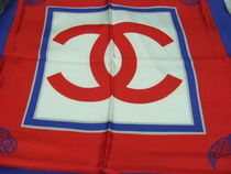 CHANEL Silk Party Style Lightweight Scarves & Shawls
