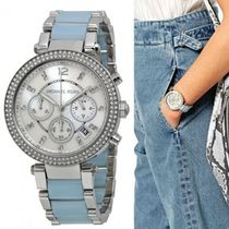 Michael Kors Casual Style Street Style Round Quartz Watches Stainless