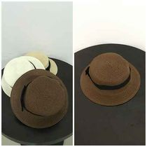 Casual Style Straw Hats
