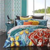 Logan & Mason Flower Patterns Comforter Covers Ethnic Duvet Covers