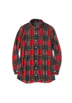FRED PERRY Tartan Street Style Long Sleeves Shirts & Blouses