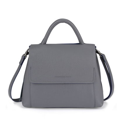 Street Style 2WAY Plain Leather Office Style Shoulder Bags