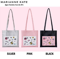 Marianne kate Casual Style Street Style A4 Shoulder Bags