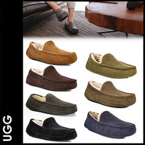 UGG Australia ASCOT Moccasin Suede Plain U Tips Loafers & Slip-ons