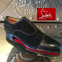 Christian Louboutin Suede Oxfords