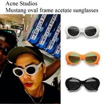Acne Oval Sunglasses