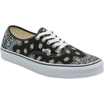 VANS AUTHENTIC Paisley Street Style Sneakers