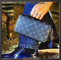 Louis Vuitton ZIPPY WALLET Monogram Unisex Leather Long Wallets