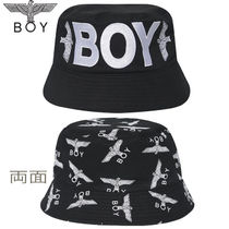 BOY LONDON Casual Style Studded Hats & Hair Accessories