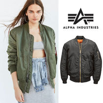 ALPHA INDUSTRIES Street Style Bomber Jackets