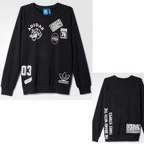adidas Street Style Long Sleeves Sweatshirts