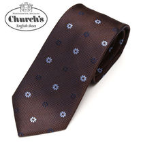 Church's Flower Patterns Silk Ties