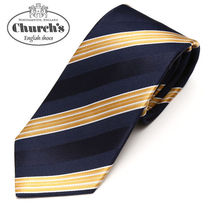 Church's Stripes Silk Ties