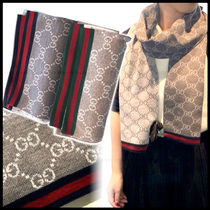 GUCCI Wool Lightweight Scarves & Shawls