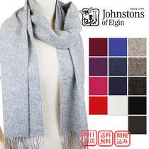 Johnstons Casual Style Wool Plain Heavy Scarves & Shawls