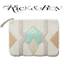 Rick & Roy Casual Style Blended Fabrics Bag in Bag Tribal Clutches