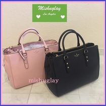 kate spade new york A4 2WAY Plain Leather Totes