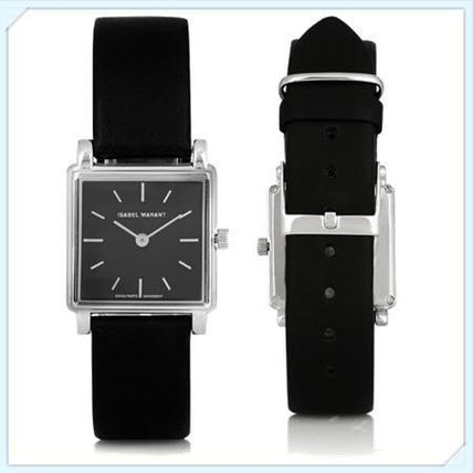 Emma Isabel Marant stainless leather watch