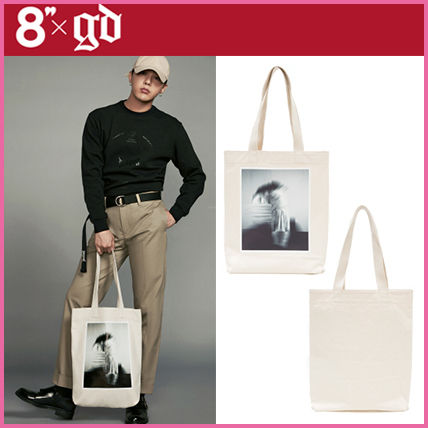 Casual Style Unisex Cambus Shoppers