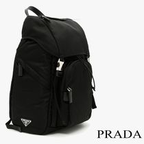 PRADA Saffiano Backpacks