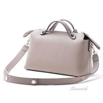 FENDI BY THE WAY Regular Boston Bag / Dove Grey