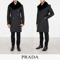 PRADA Wool Long Coats
