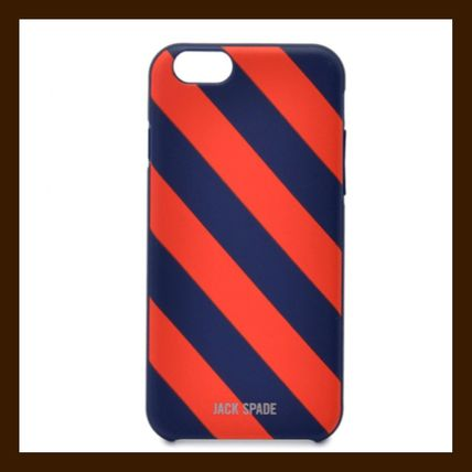 JACK SPADE / iPhone 6/6S Case / Repp Stripe Navy/Red