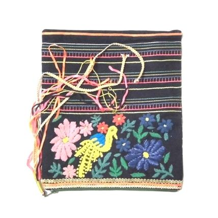 Casual Style Tassel Clutches