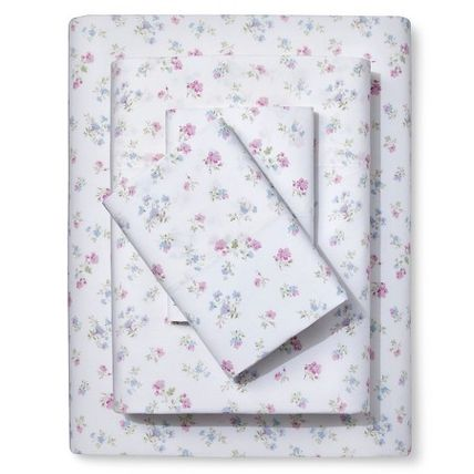 Flower Patterns Collaboration Pillowcases Fitted Sheets